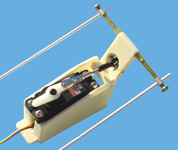 Servoansteuerung Schubumkehr für 2x KMB JET28 synchron