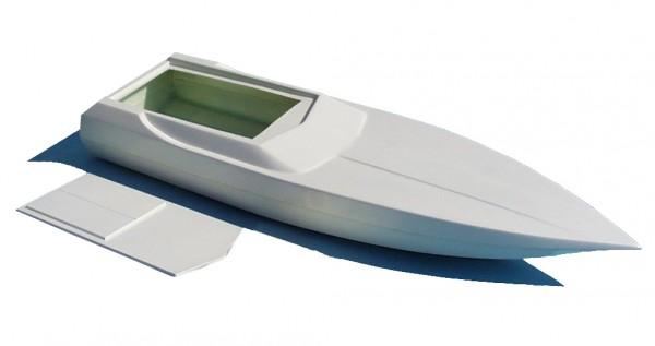 Powerboat Stingray II - Rumpf und Deck inklusive 1x Antrieb JET2802
