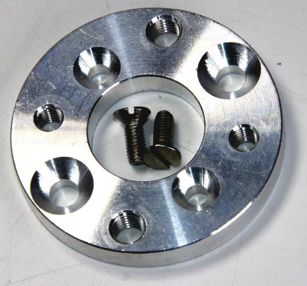 Adapterflansch für (Brushless-)Motoren mit 25 mm oder 30 mm Lochabstand
