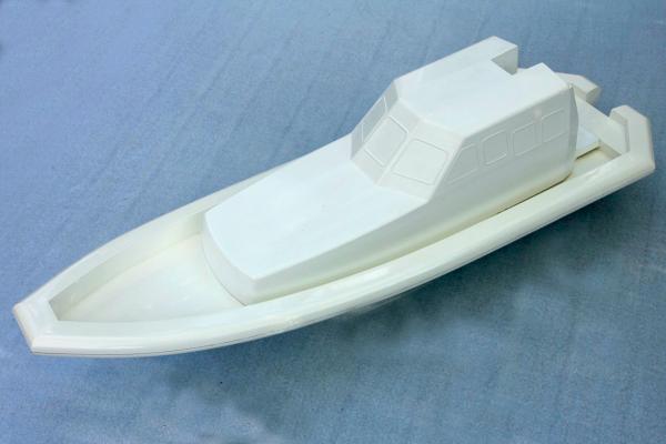 """Schlauchboot LRB """"Life Rescue Boat"""" I - Rumpf und Kabine"""