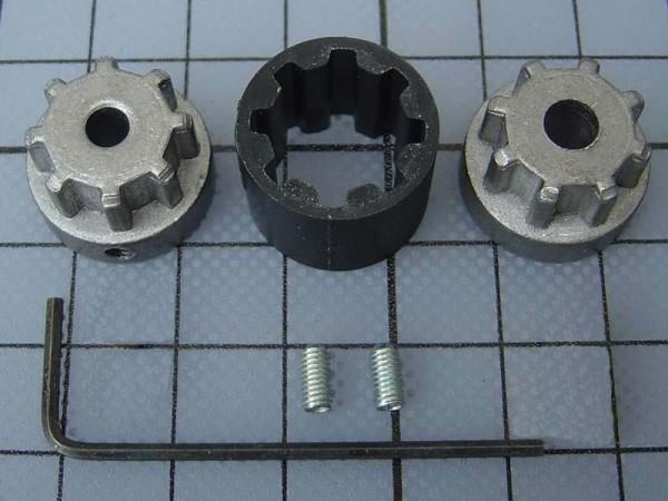 Krick Hochlast-Wellen-Kupplung Ø 5 mm - Ø 5 mm